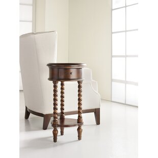 Seven Seas End Table with Storage by Hook..