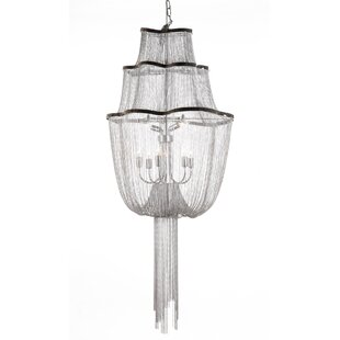 dCOR design The Flow 7-Light Novelty Chandelier