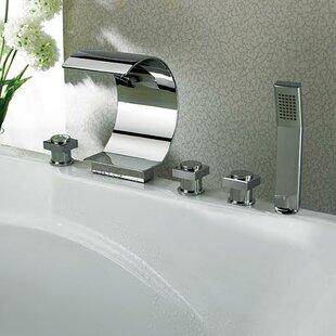 Kokols Triple Handles Deck Mount Faucet w..