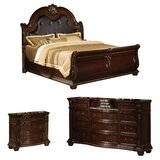 Wentz Sleigh Configurable Bedroom Set by Astoria Grand