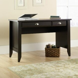 Claremont 2 Drawer Writing Desk by Charlton Home