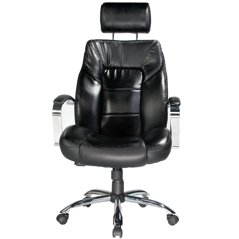 comfort products louis high back leather executive chair reviews