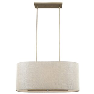 Best Price Hatcher Oval 6-Light Drum Pendant By Orren Ellis
