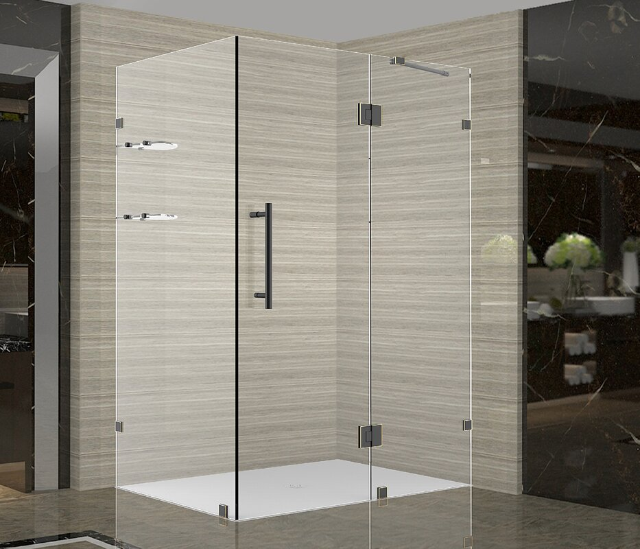 Aston Avalux Gs 40 X 30 72 Completely Frameless Hinged Shower