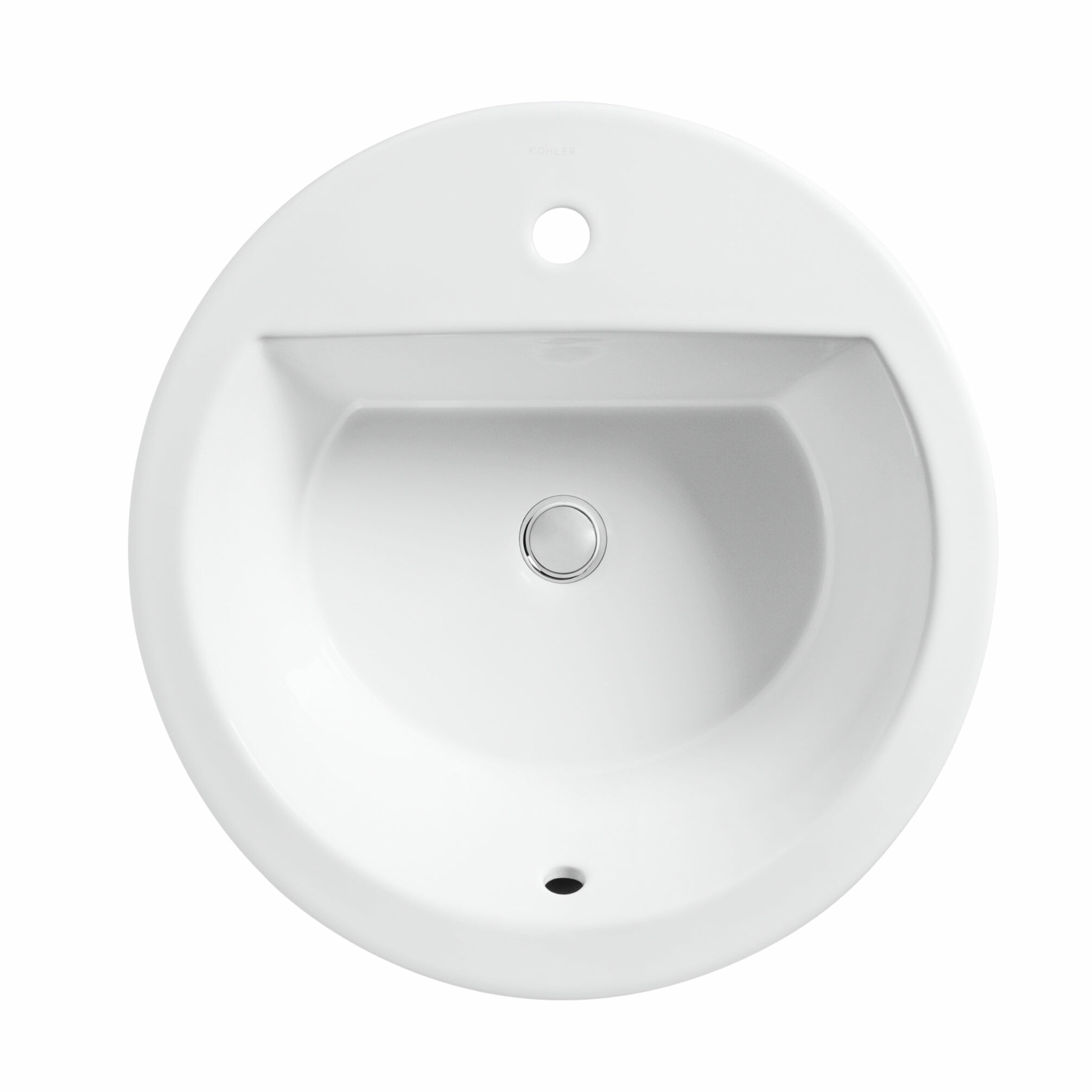 K 2714 1 0 4 58 96 Kohler Bryant Ceramic Circular Drop In