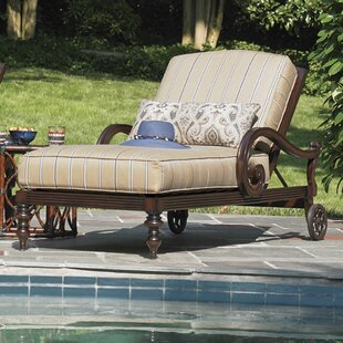 Tommy Bahama Outdoor Royal Kahala Reclining Chaise Lounge with Cushion