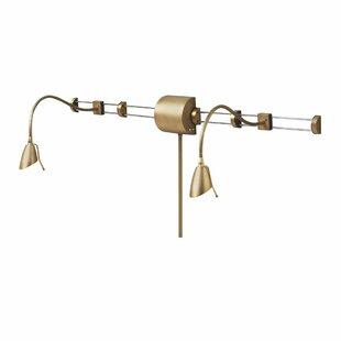 Red Barrel Studio Ithaca 2-Light Swing Arm