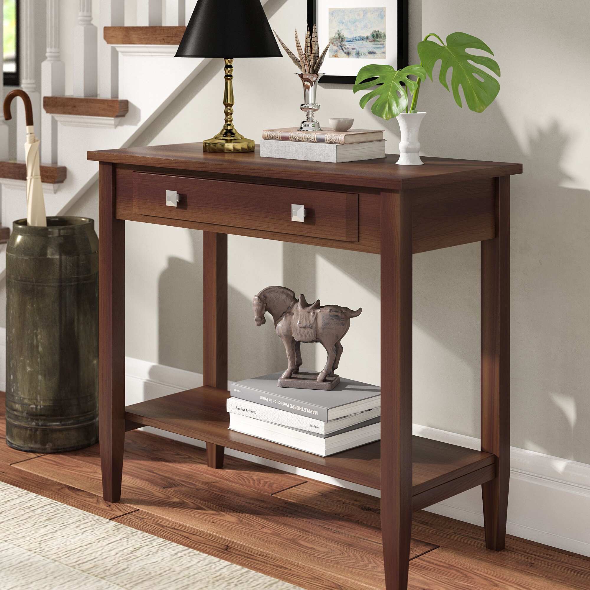 Red Barrel Studio Verdin 33 9 Console Table Reviews Wayfair