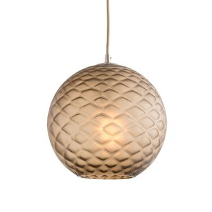 Geraldine 1-Light Globe Pendant by ARTERIORS