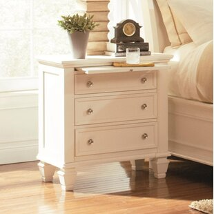 Darby Home Co Horton Bachelor's 3 Drawer Night Stand