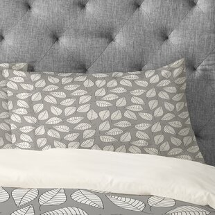 Bianca Green Leafy Pillowcase