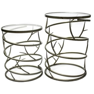 Audrey 2 Piece Nesting Tables by Sagebrook Home
