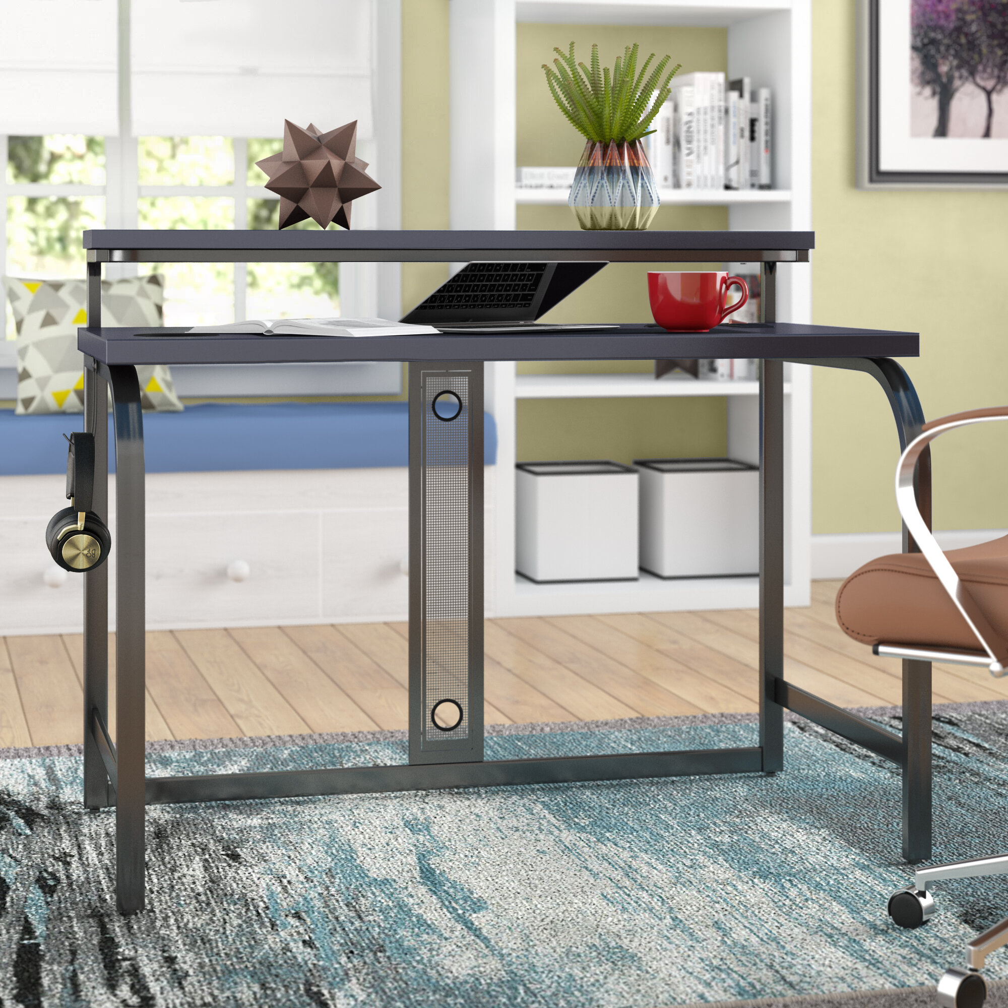 - Symple Stuff Greely Computer Desk With Hutch & Reviews Wayfair