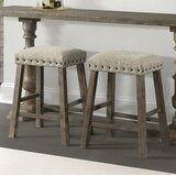 Schweitzer 24 Bar Stool (Set of 2) by Gracie Oaks