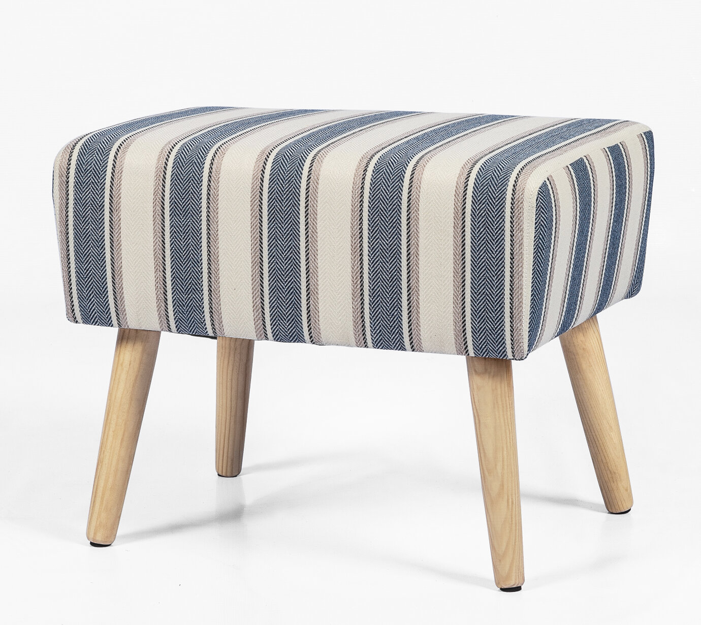 Stupendous Del Rey Oaks Simple Stripes Vanity Stool Camellatalisay Diy Chair Ideas Camellatalisaycom