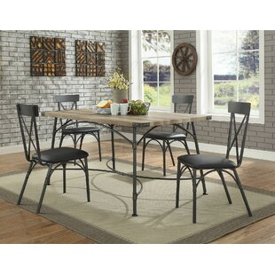 Christofor 5 Piece Dining Set 17 Stories