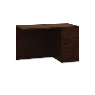 10500 Series 295 H x 48 W Desk Return HON Location Right Finish Mahogany