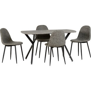 Alayna Dining Set With 4 Chairs By Corrigan Studio