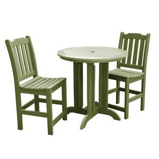 Regan 3 Piece Dining Set