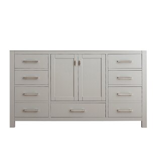 Compare & Buy Poyen 60 Double Vanity Base Only ByCharlton Home