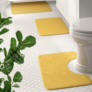 Yellow Bath Mat Sets Wayfair
