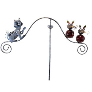 Matlock Cat And Mouse Wind Spinner By Happy Larry