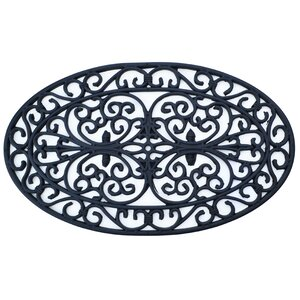 Molded Oval Doormat