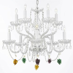 House of Hampton Kennerson 10-Light Candle Style Chandelier