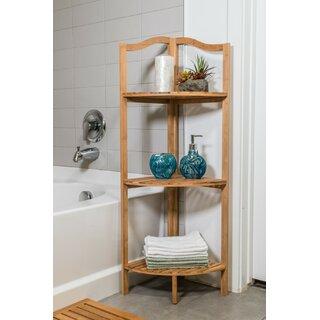 Wayman Corner Bookcase by Highland Dunes SKU:EA388905 Check Price