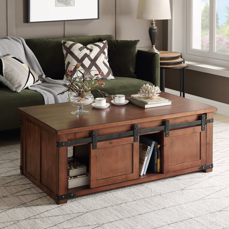 Rosa Solid Wood Coffee Table