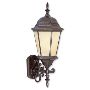 Top Reviews Christian 1-Light Outdoor Sconce By Darby Home Co