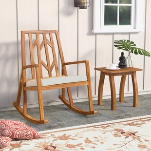 Madalyn 2 Piece Rocker Seating Group with Cushion by Mistana
