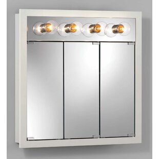 Find a 30 x 30 Surface Mount Medicine Cabinet with Lighting By Jensen