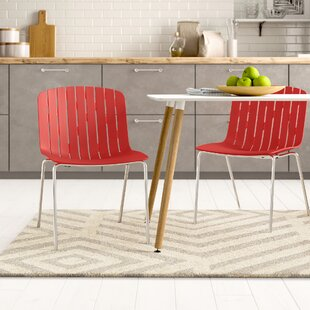 Yasmine Solid Back Side Chair (Set Of 2) By Zipcode Design