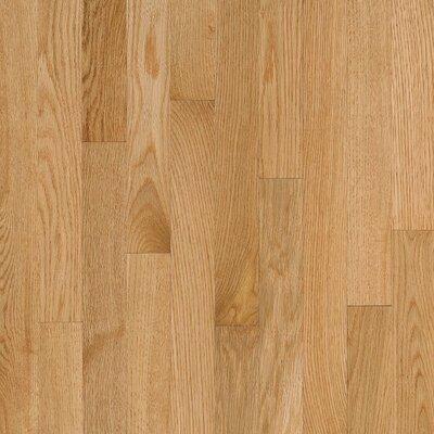 "Welles Hardwood SAMPLE - 2.25"" Solid Oak Flooring in Natural"
