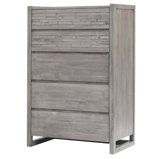 Foundry Select Bolingbrook 5 Drawer Chest