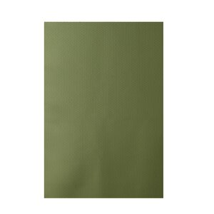 Solid Green Indoor/Outdoor Area Rug