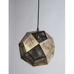 Latitude Run Sowder 1-Light Geometric Pendant