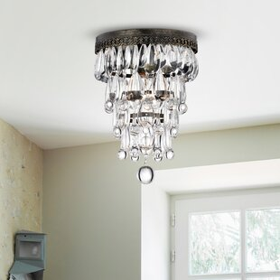 Broadfields 1-Light Semi Flush..