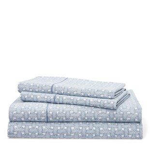 Lauren Ralph Lauren Spencer Basketweave 212 Thread Count 100% Cotton Sheet Set