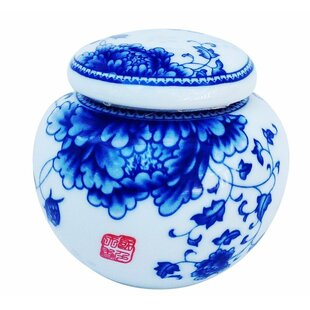 Chinese Porcelain Kitchen Canister