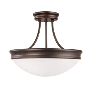 Tenbury 3-Light Semi Flush Mou..