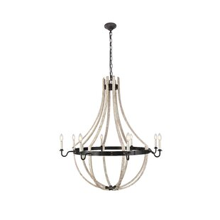 Gracie Oaks Karteek 8 Llight Empire Chandelier