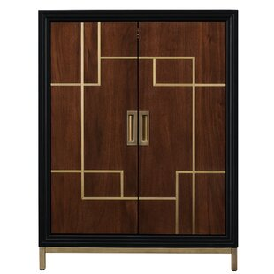 Geraldina Wine 2 Door Accent Cabinet by Mercer41