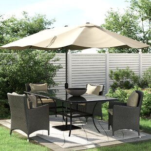 Aerial 4.6m Traditional Parasol By Freeport Park