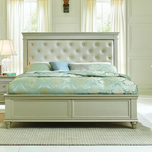 Celine Upholstered Panel Bed