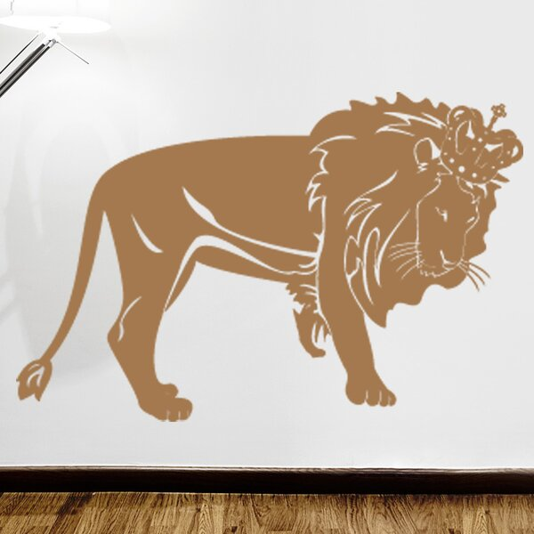 House Bravery Lion Decal