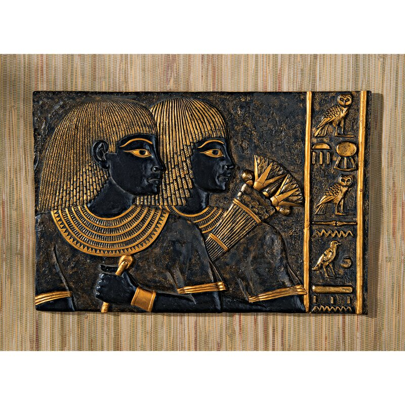 Egyptian Wall Decor design toscano royal egyptian relief in tomb of vizier ramose wall