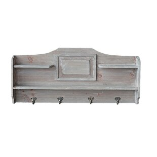 Capra Wall Mounted Coat Rack By Lily Manor