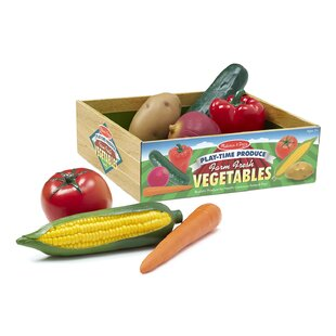 7 Piece Play-Time Veggies Set by Melissa & Doug